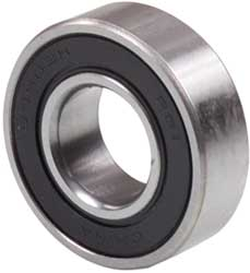Bearing 6205-2RS - 25x52x15 Flat - Double Seal