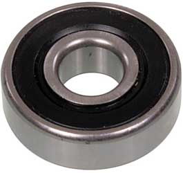 Bearing 6206-2RS - 30x62x16 Flat - Double Seal