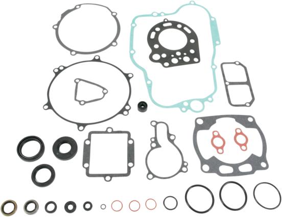 full engine gasket set - kawasaki mx  125 kx 90-91   811423