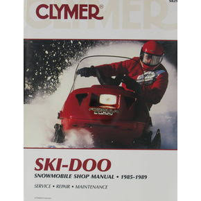 Clymer Shop Manual - Ski-Doo Snowmobile - 1985-1989