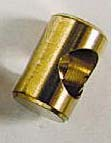 Brass Ferrule Barrel Nipple Fittings (6mm x 10mm)