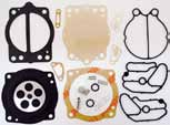 Carb Gasket Kit - Keihin 38/40/42mm Diaphragm CDK II Pump-Type