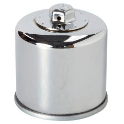 Oil Filter - K&N Performance KN-204 (Chrome)