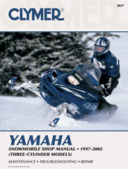 Clymer Shop Manual - Yamaha Snowmobile - 1997-2002